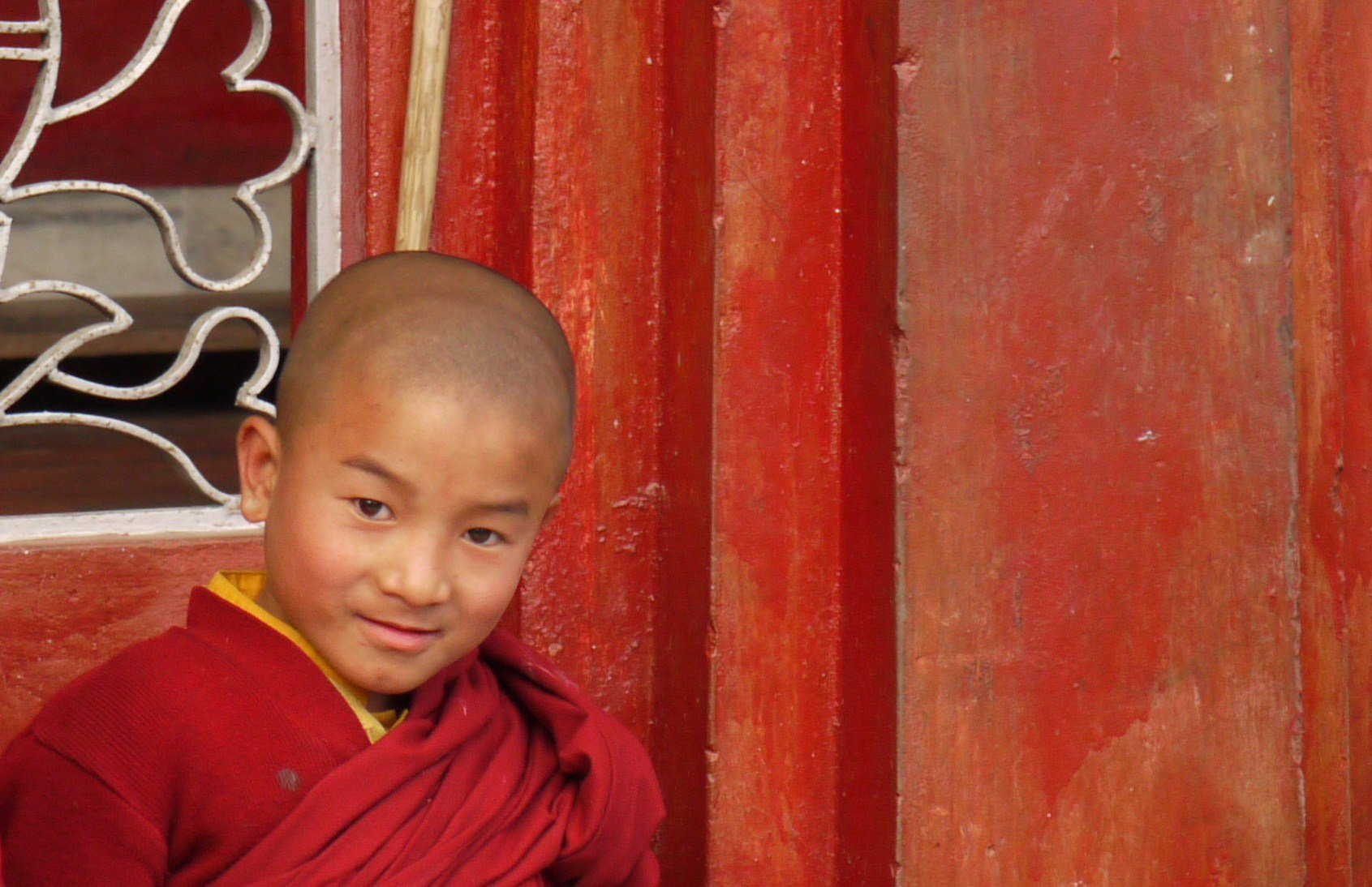 Lama monk boy north sikkim