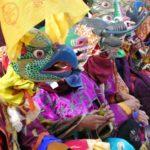Mask Dance Festival Lamas Phodong Sikkim