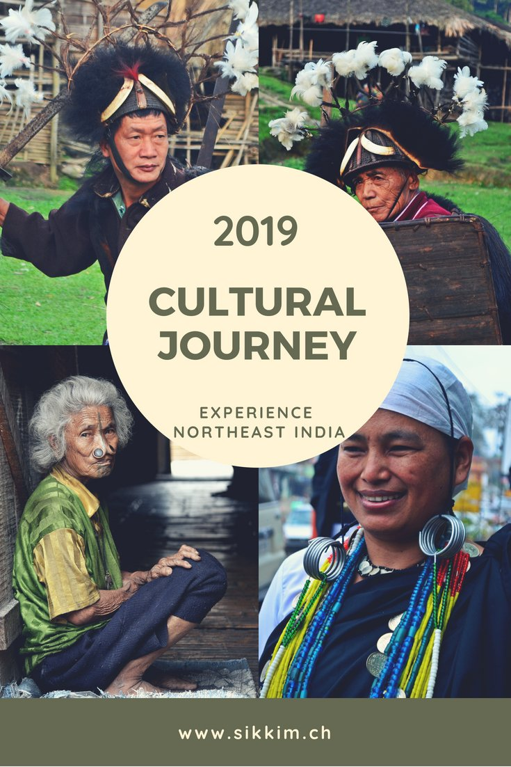 Northeast India-Trip with indigenous festivals