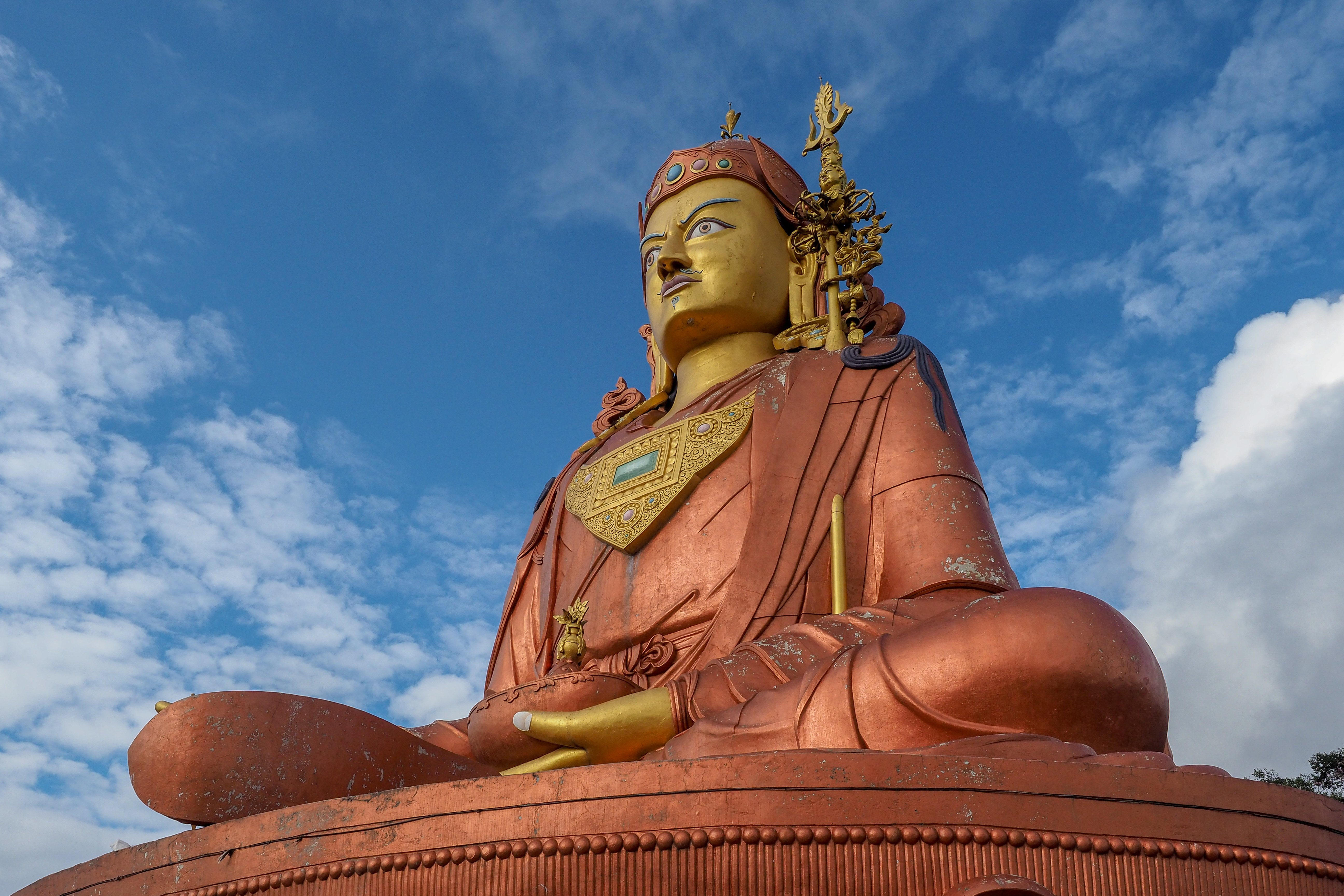 The true look of Buddha looks far beyond the holy land.