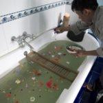 Preparation of the herbal bath