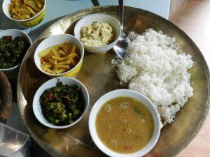 Bamboo Retreat Hotel, Sikkim, Indien: Großartiges Essen im Hotel Restaurant