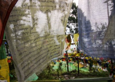 Gebetsfahnen_Sikkim_Indien