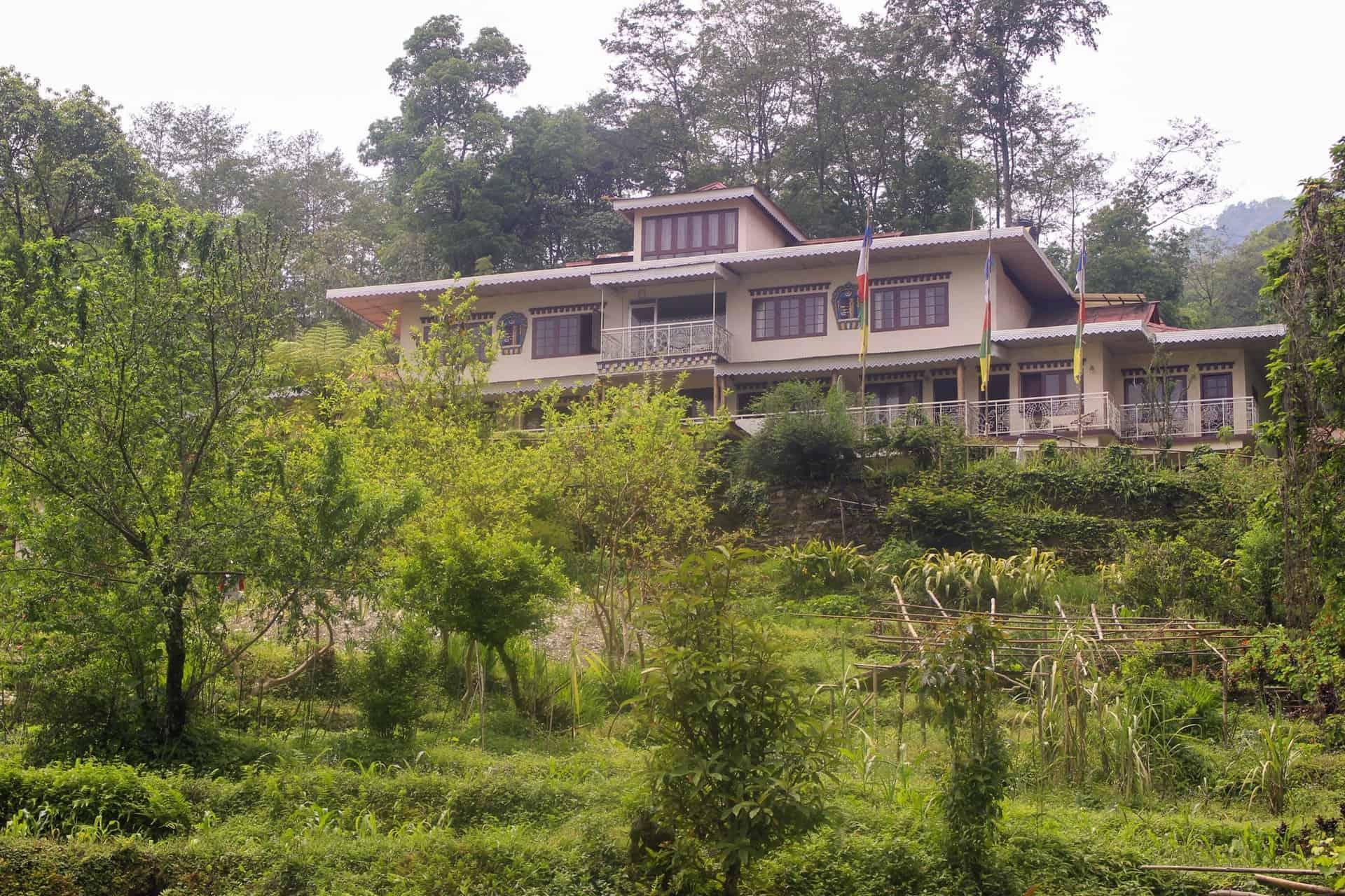 Aussenansicht Bamboo Retreat Hotel