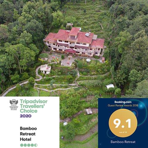 Bamboo Retreat hotel Tripadivor Travellers Choice 2020